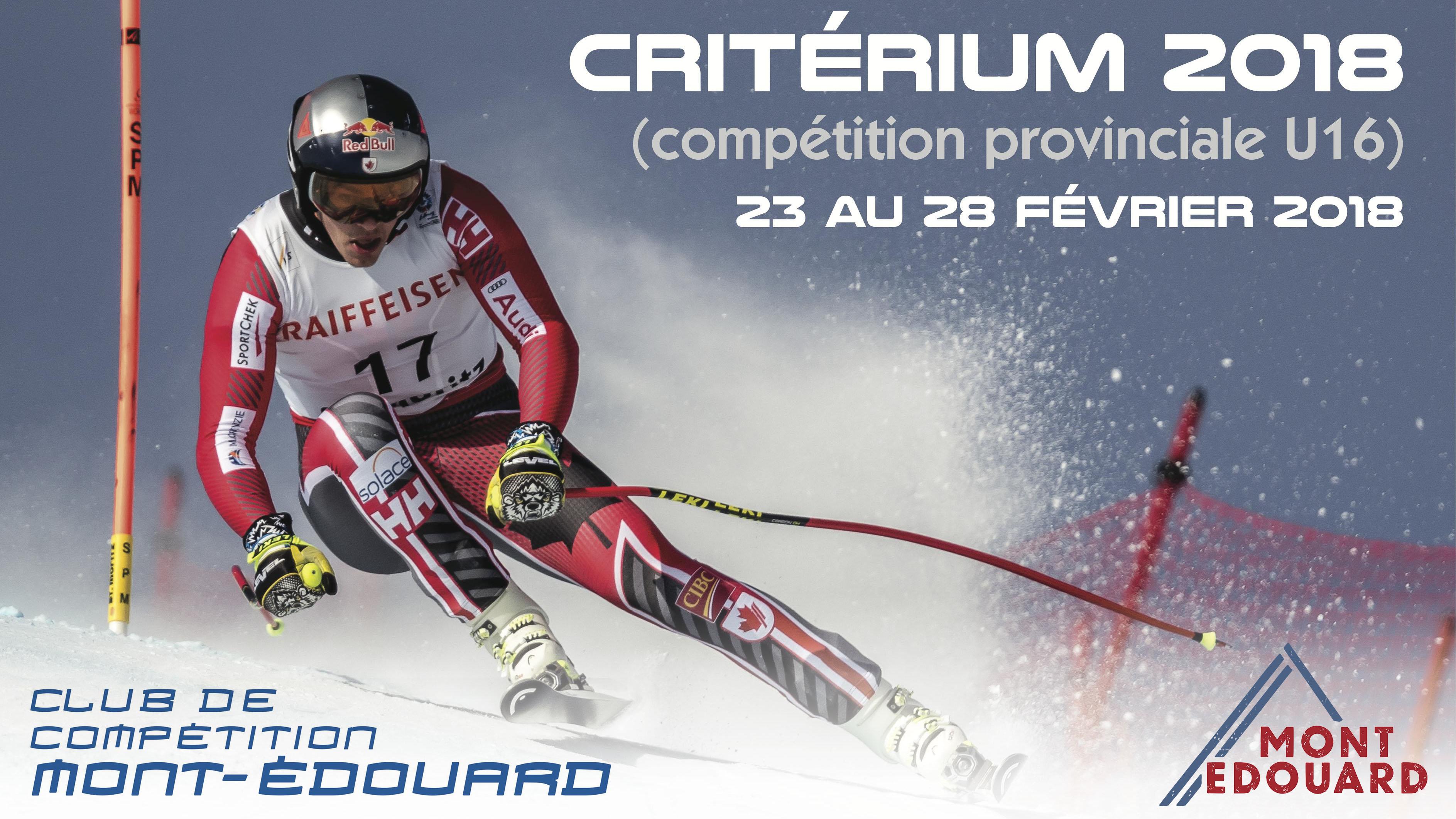 Athlètes représenteront la Zone de Ski de l'Est du Québec au Championnat Provincial U16 !